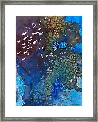 Framed Print featuring the painting Motufoua Tuvalu by Ed  Heaton