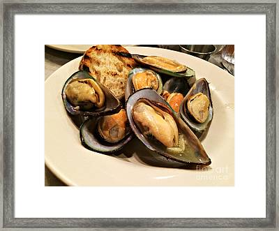 Moules Marinieres Framed Print