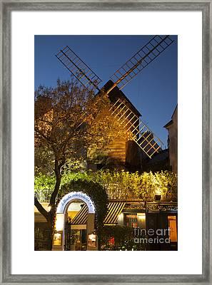 Moulin De La Galette Framed Print