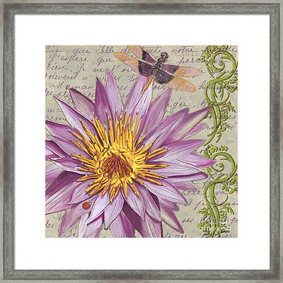 Moulin Floral 1 Framed Print by Debbie DeWitt