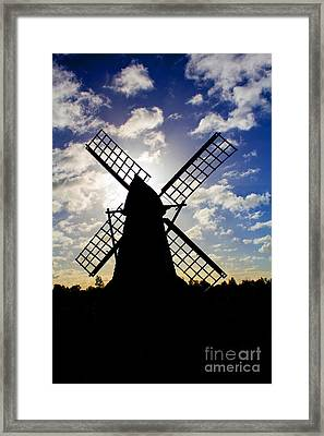 Moulin Noir Framed Print