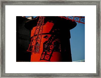 Framed Print featuring the photograph Moulin Rouge Paris by Jacqueline M Lewis