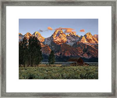 Moulton Barn 2 Framed Print