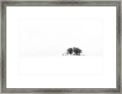 Mound Framed Print by Gert Lavsen