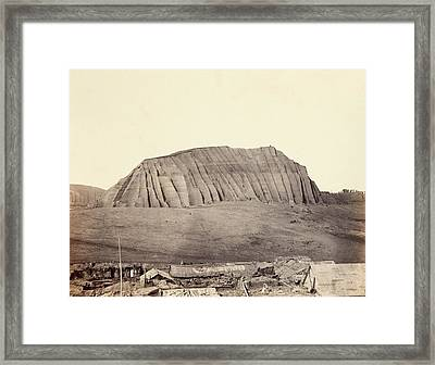 Mound Of Guano Framed Print