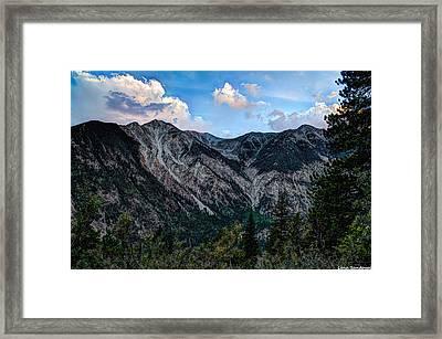 Mount Antero Framed Print