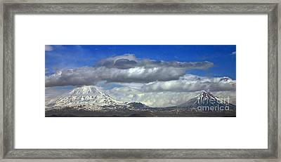 Mount Ararat Framed Print