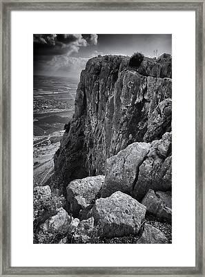Mount Arbel Framed Print by Stephen Stookey