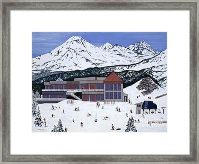 Mount Bachelor Framed Print