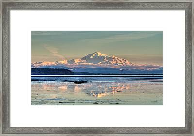 Mount Baker North Cascades National Park Framed Print by Pierre Leclerc Photography
