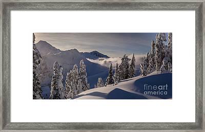 Mount Baker Snowscape Framed Print