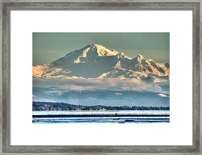 Mount Baker Washington Framed Print