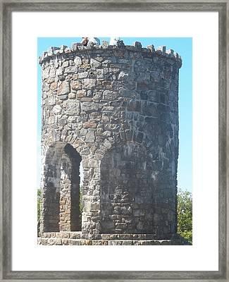 Mount Battie Stone Tower II Framed Print