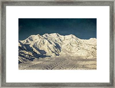 Mount Blackburn Framed Print