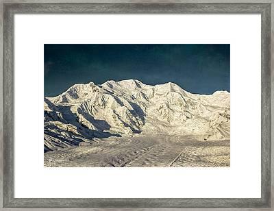 Mount Blackburn Framed Print