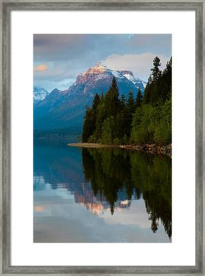 Mount Cannon Framed Print by Aaron Aldrich