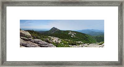 Mount Chocorua From The Sisters Framed Print