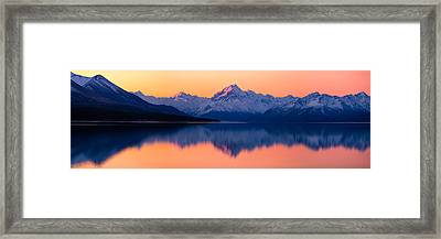 Mount Cook, New Zealand Framed Print by Daniel Murphy