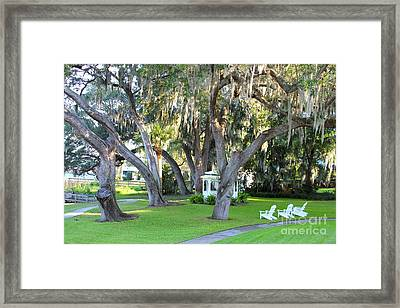 Mount Dora Framed Print by Carey Chen