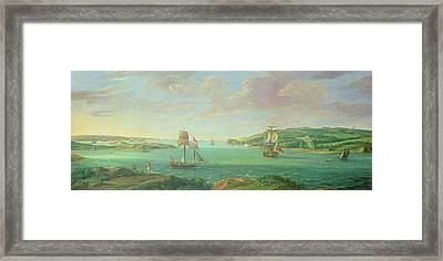 Mount Edgcumbe Framed Print by Banfield