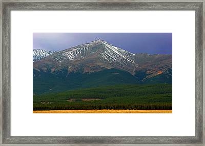 Mount Elbert Framed Print by Brian Kerls