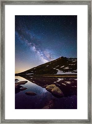 Mount Evans Dreamland Framed Print by Adam Pender