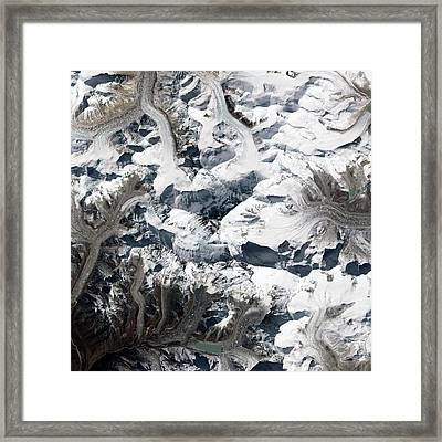 Mount Everest Framed Print by Nasa Earth Observatory