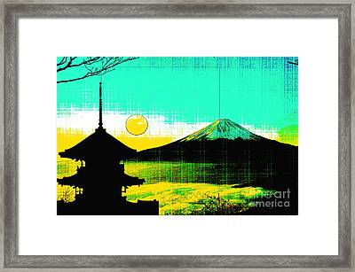 Mount Fiji Framed Print by Celestial Images