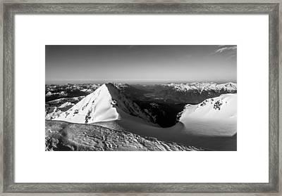 Mount Garibaldi Summit  Framed Print