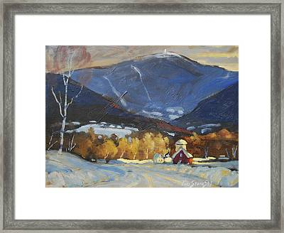 Mount Greylock From Williamstown Framed Print