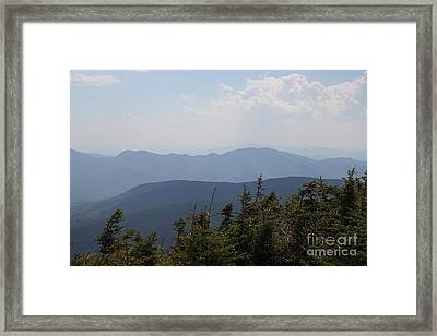 Mount Hancock Summit View Framed Print