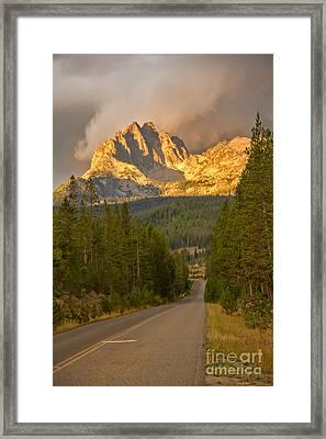 Mount Heyburn Framed Print by Robert Bales