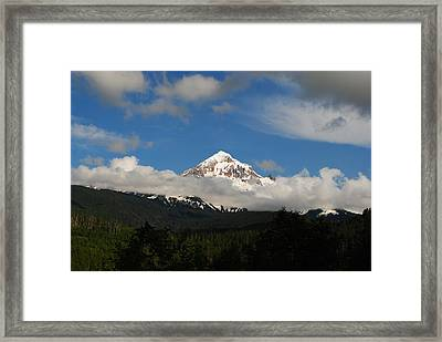 Mount Hood Oregon Framed Print by Robert  Moss