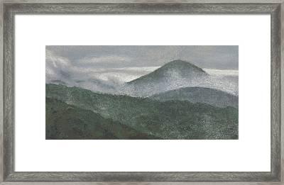 Mount Judea Framed Print