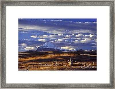 Mount Kailash Tibet Framed Print