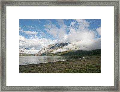 Framed Print featuring the photograph Mount Kaputyat by Ben Shields