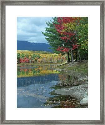 Mount Katahdin Over Abel Creek, Baxter Framed Print