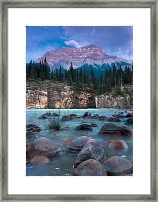 Mount Kerkeslin  Framed Print