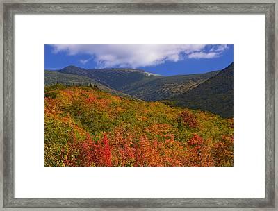 Mount Lafayette Framed Print
