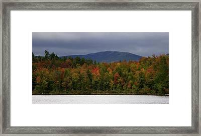 Mount Monadnock Fall 2013 View 2 Framed Print