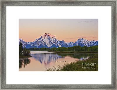 Mount Moran Sunrise Framed Print