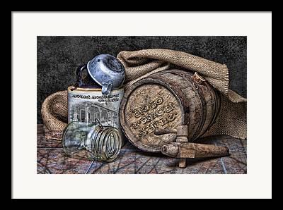 Mason Jars Photographs Framed Prints