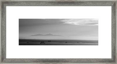 Mount Olympus Greece Framed Print by Sotiris Filippou
