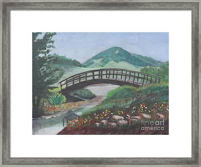 Mount Otis Framed Print