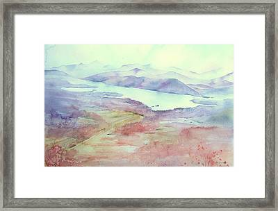 Mount Philo Fall Framed Print by Amanda Amend
