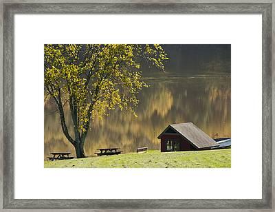 Mount Pisgah Framed Print
