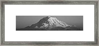 Mount Rainier Landscape Framed Print by Bob Noble Photography