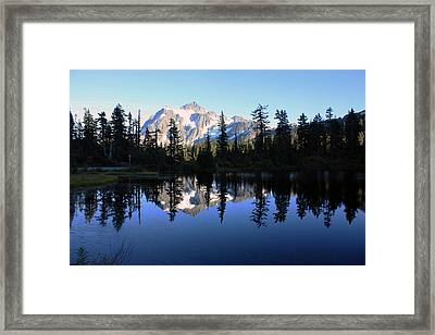 Mount Shuksan Framed Print by Gerry Bates