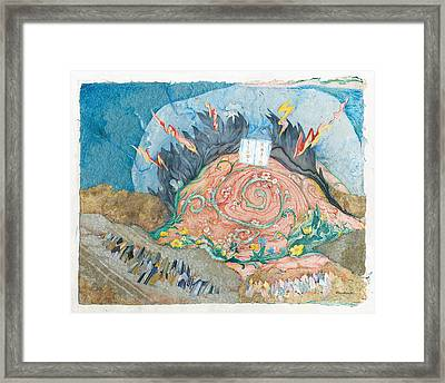 Mount Sinai Framed Print by Michoel Muchnik