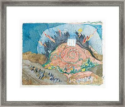 Mount Sinai Framed Print